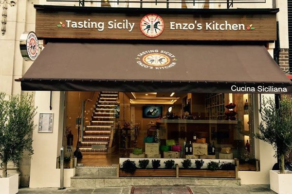 TASTING SICILY ENZO'S KITCHEN - London