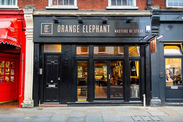 Orange Elephant - London