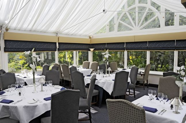 Orangery Restaurant at The Moat House Hotel - Staffordshire