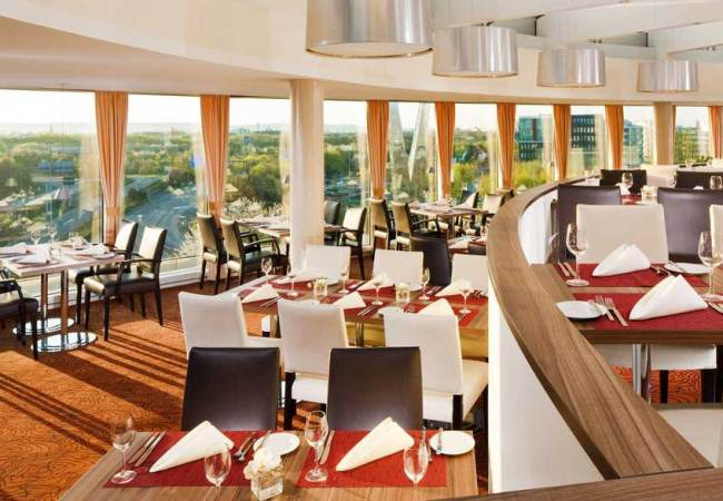 Otto Dine with a view at Sheraton Dusseldorf - North Rhine Westphalia