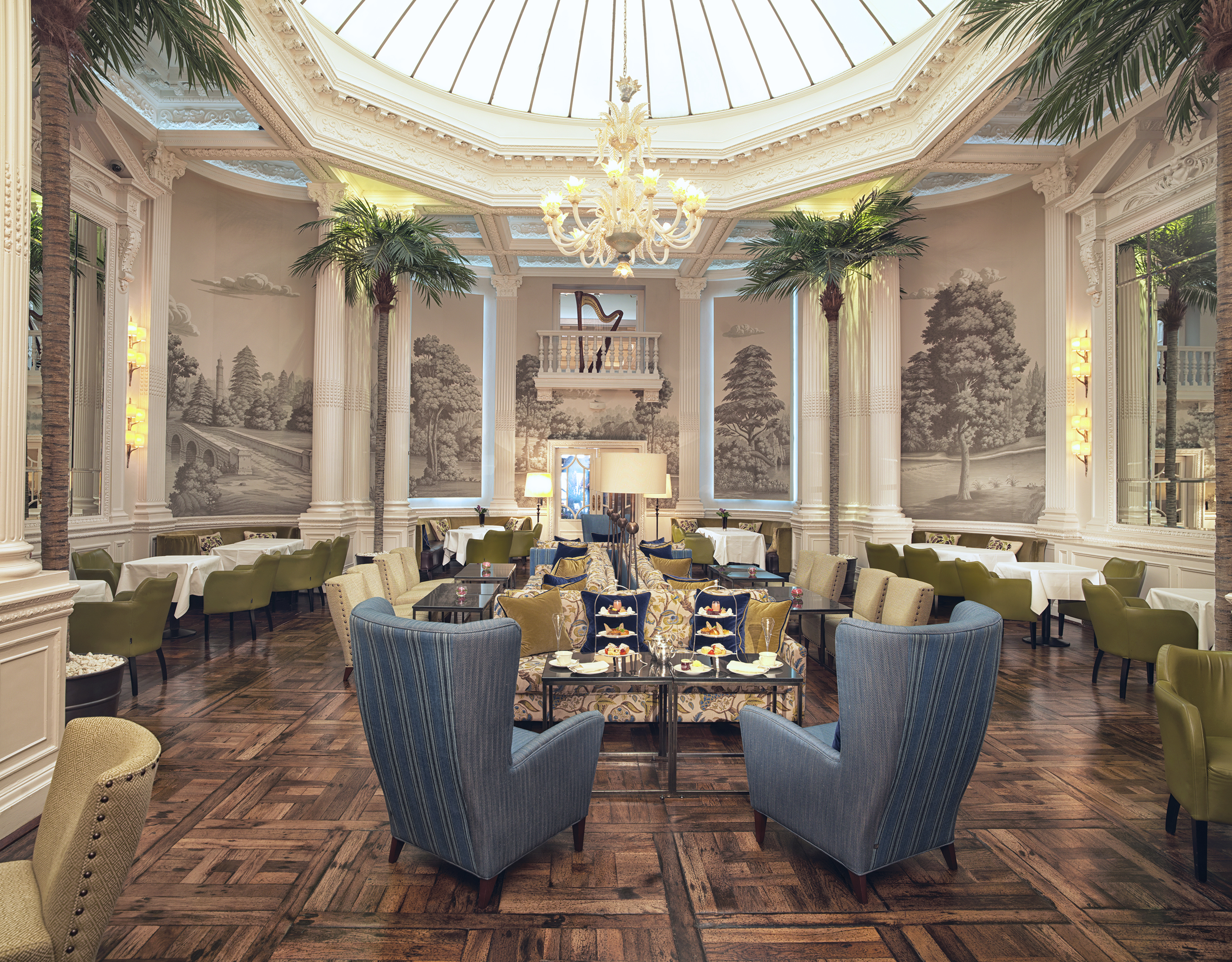 Palm Court at The Balmoral - Edinburgh