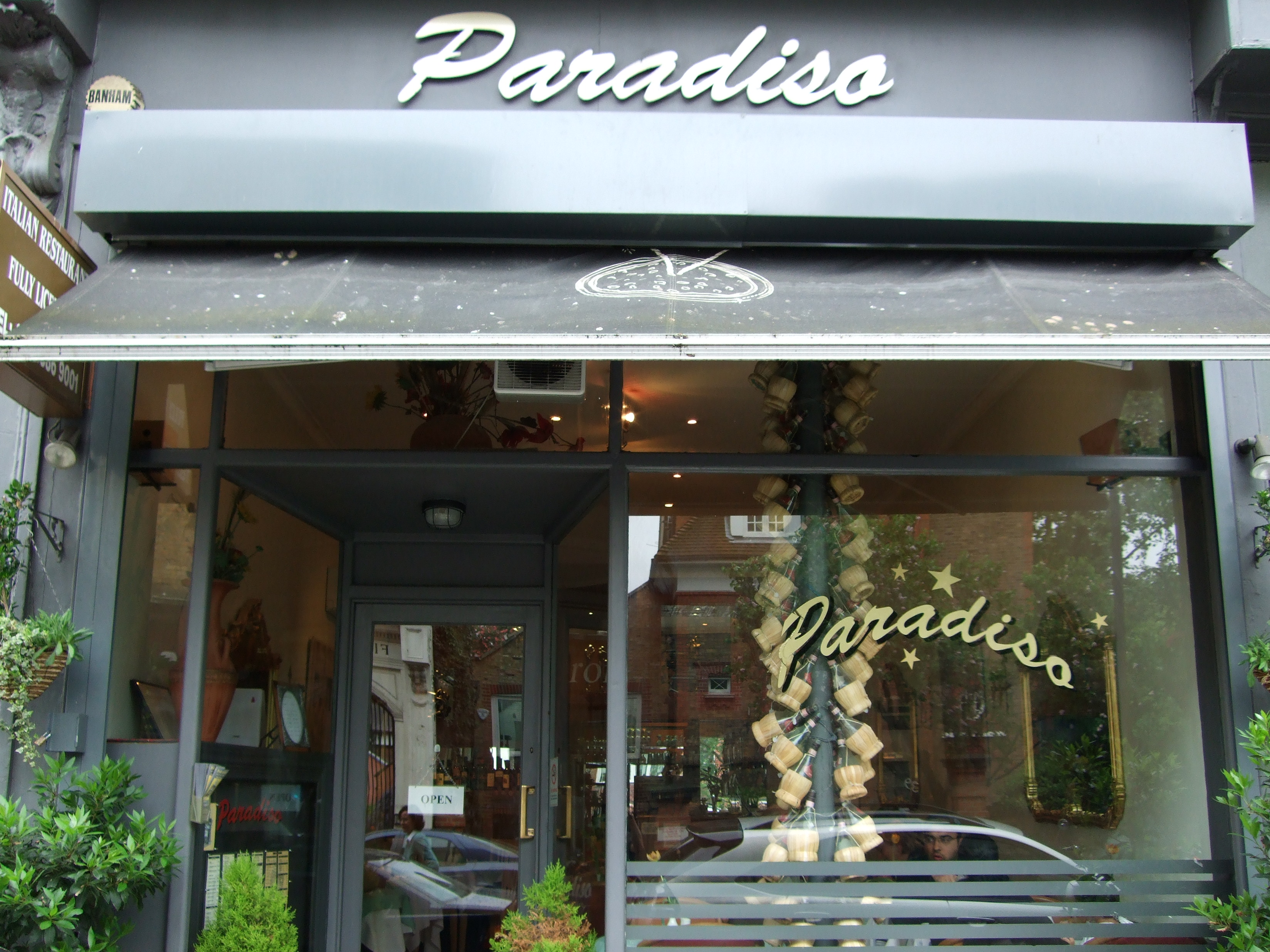 Paradiso Restaurant - London