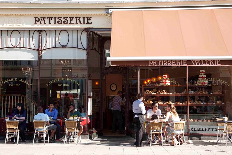 Patisserie valerie chichester west sussex bookatable for Table 85 hours