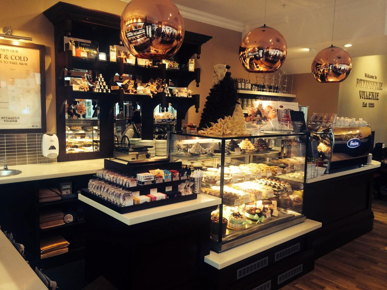 Patisserie Valerie - Edinburgh Rose Street - Edinburgh