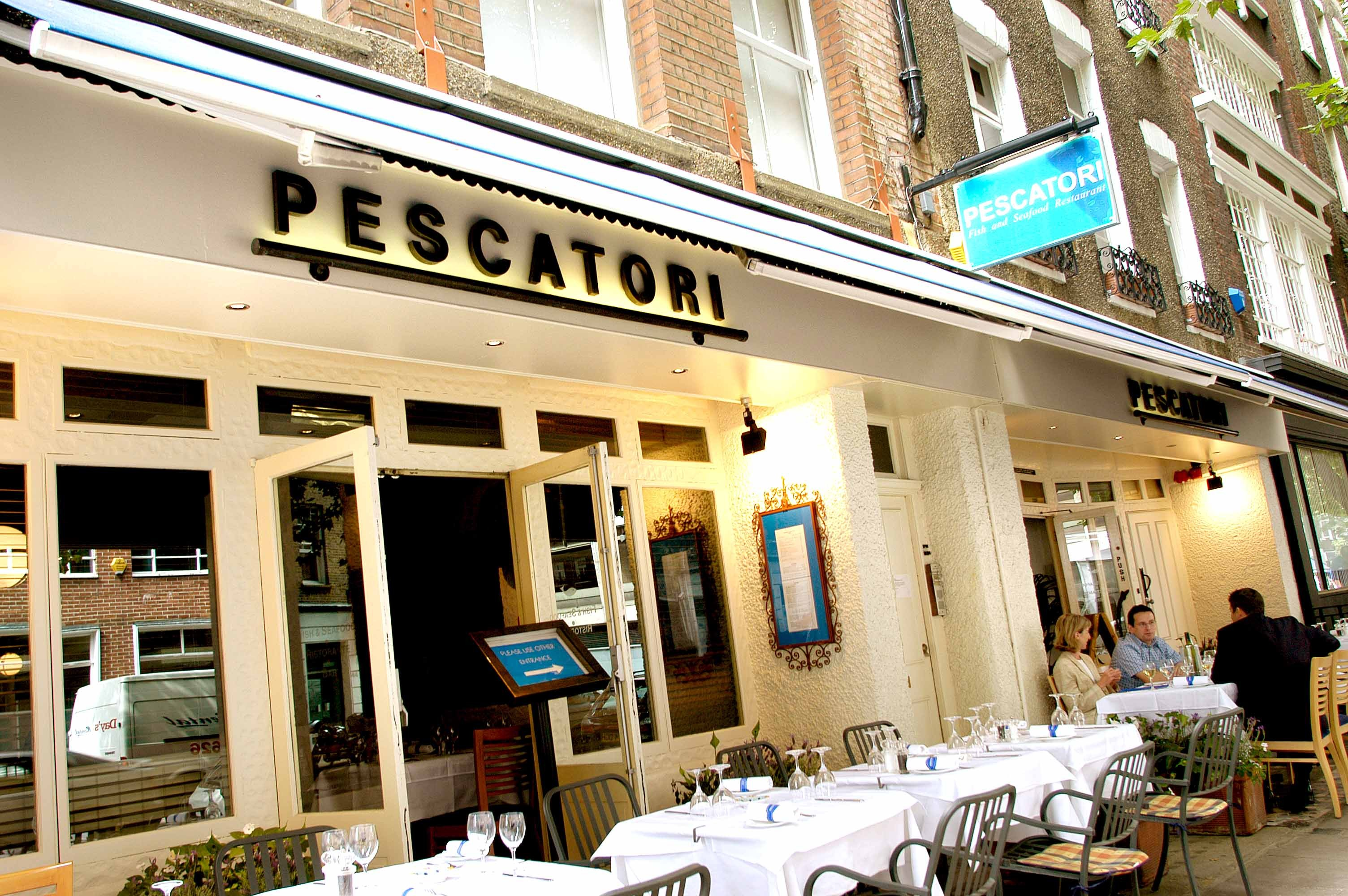 Reserve a table at Pescatori - Charlotte Street