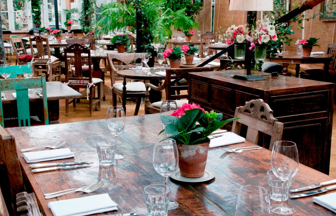 Petersham Nurseries Café - Yttre London