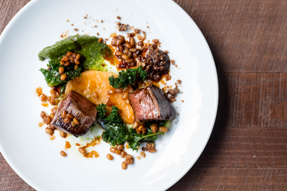 6-course tasting menu & a cocktail £35 per person