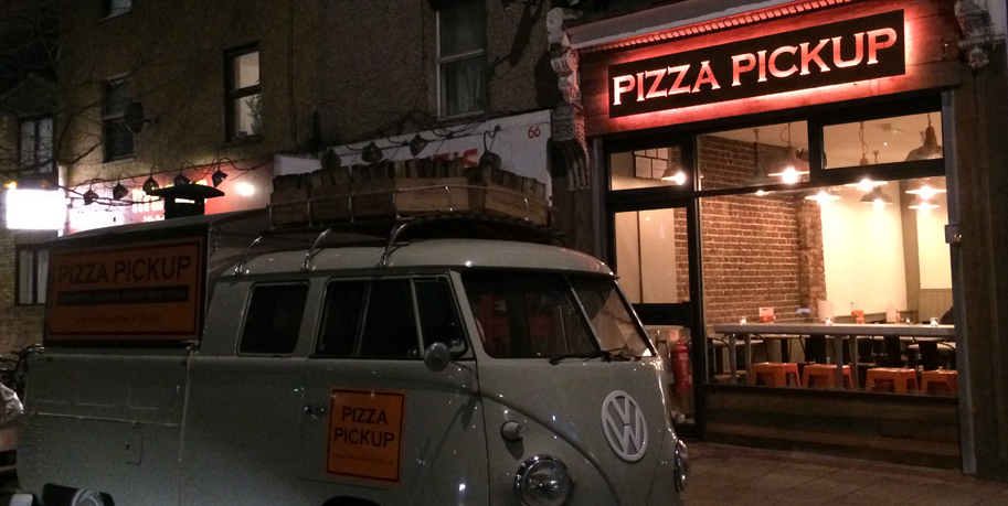 Pizza Pickup - London