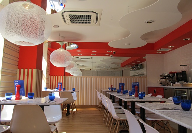 Reserve a table at PizzaExpress Leeds Albion Place
