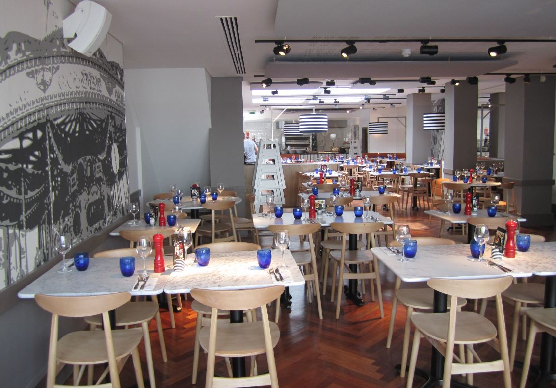 Reserve a table at PizzaExpress Chichester