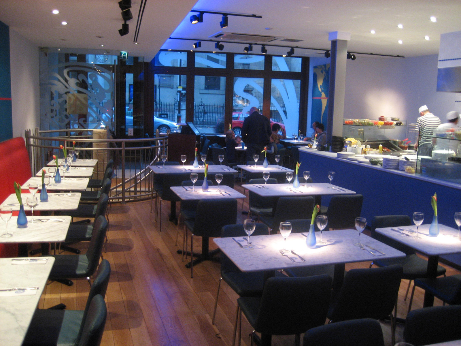 Reserve a table at PizzaExpress Greenwich (Church Street)