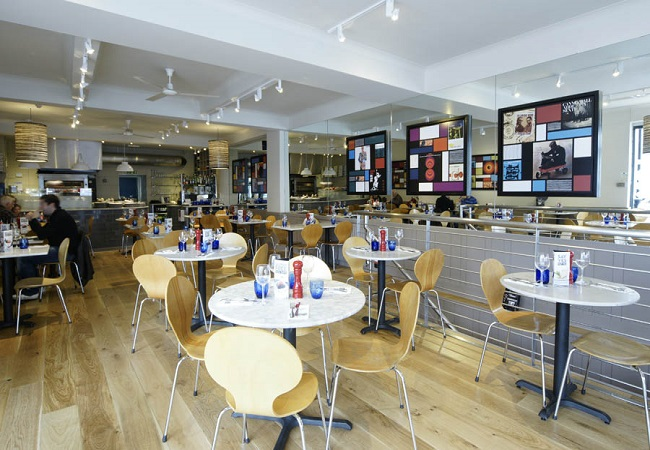 Reserve a table at PizzaExpress Earls Court Road