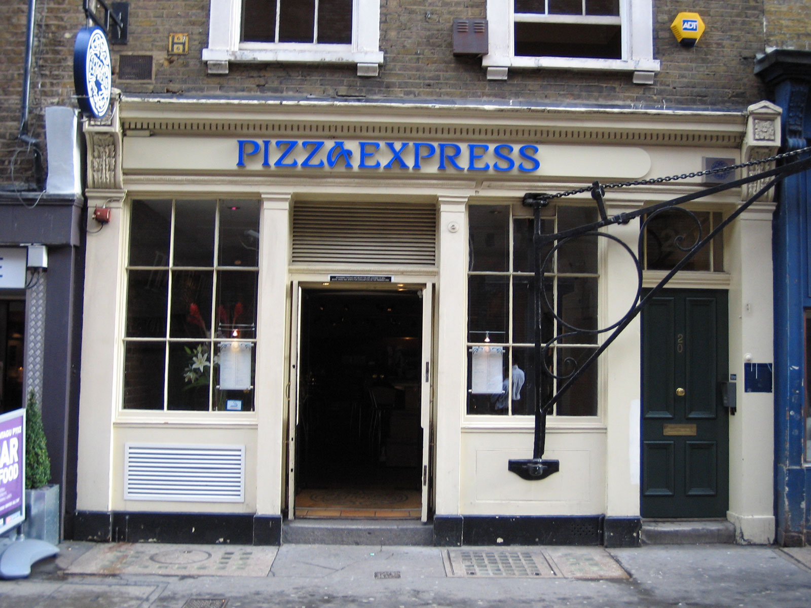 Reserve a table at PizzaExpress Greek St