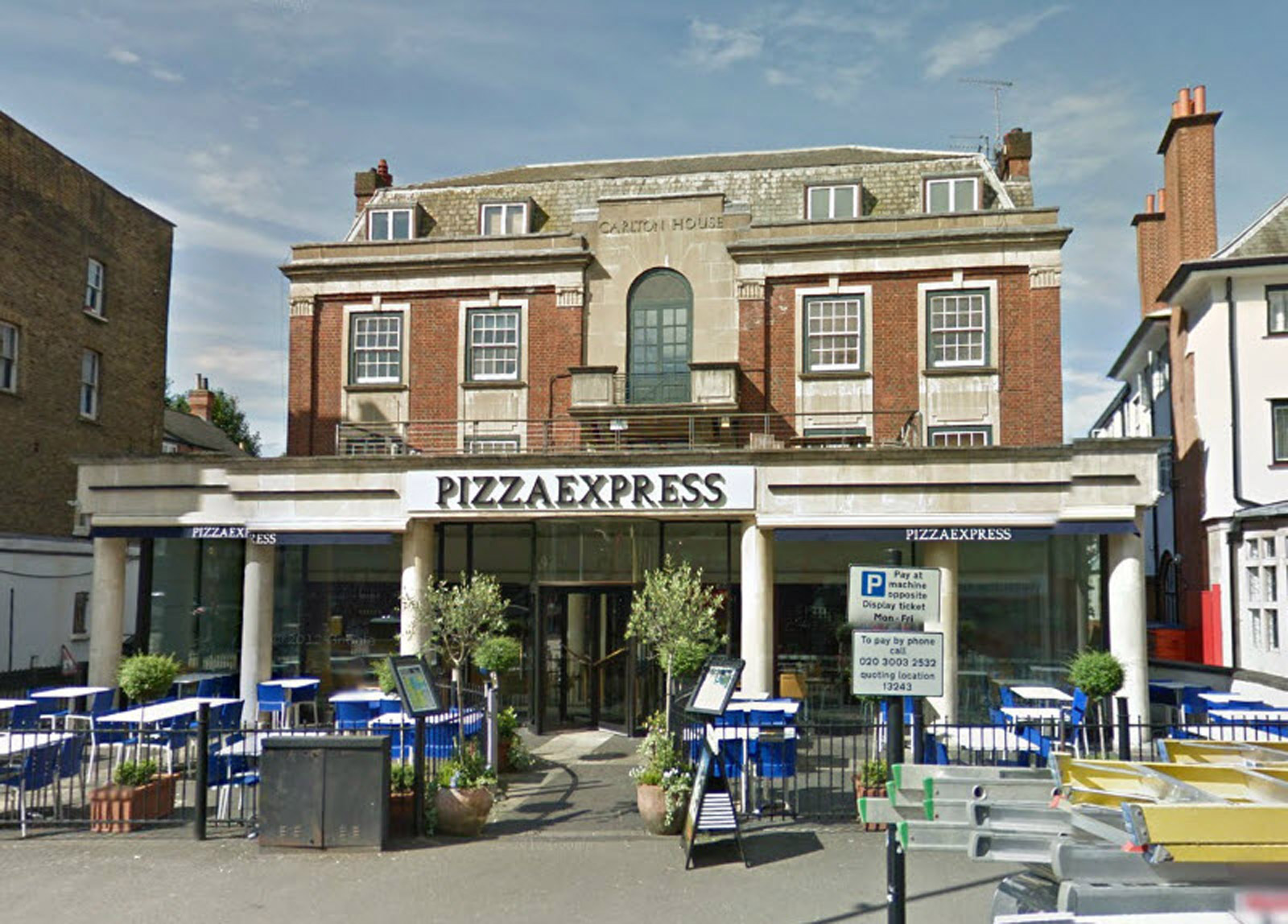 Reserve a table at PizzaExpress West Hampstead