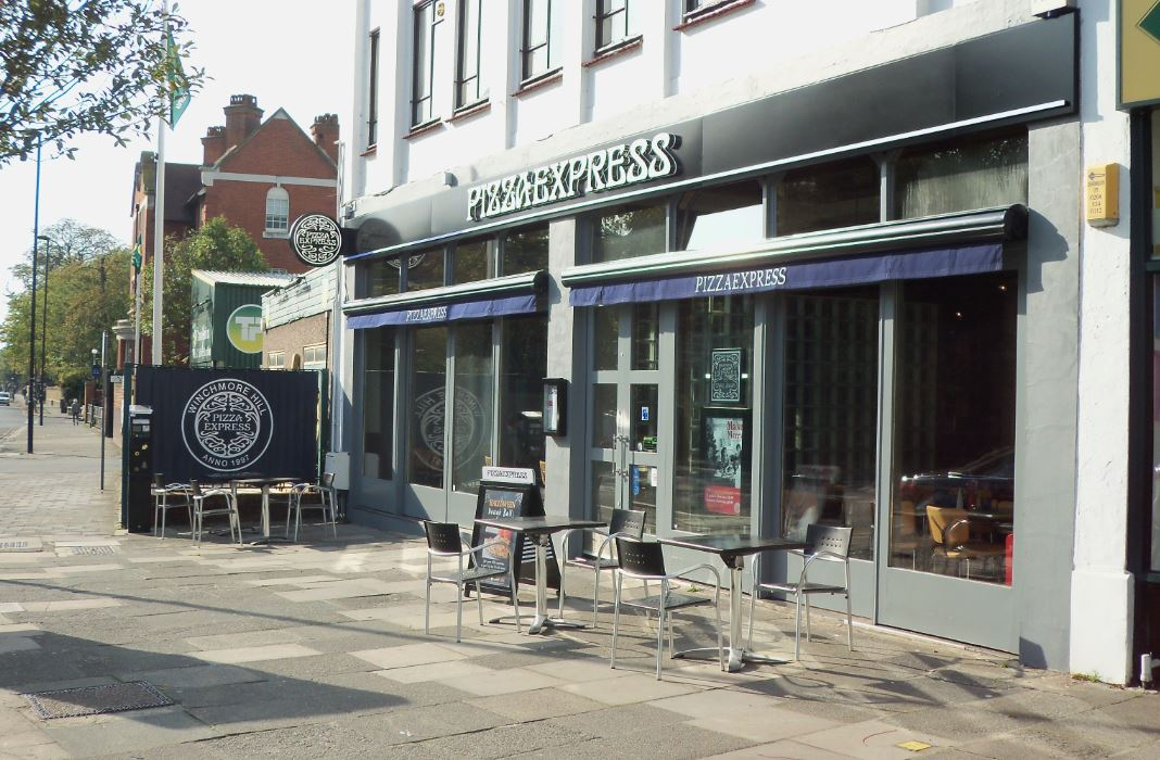 Reserve a table at PizzaExpress Winchmore Hill