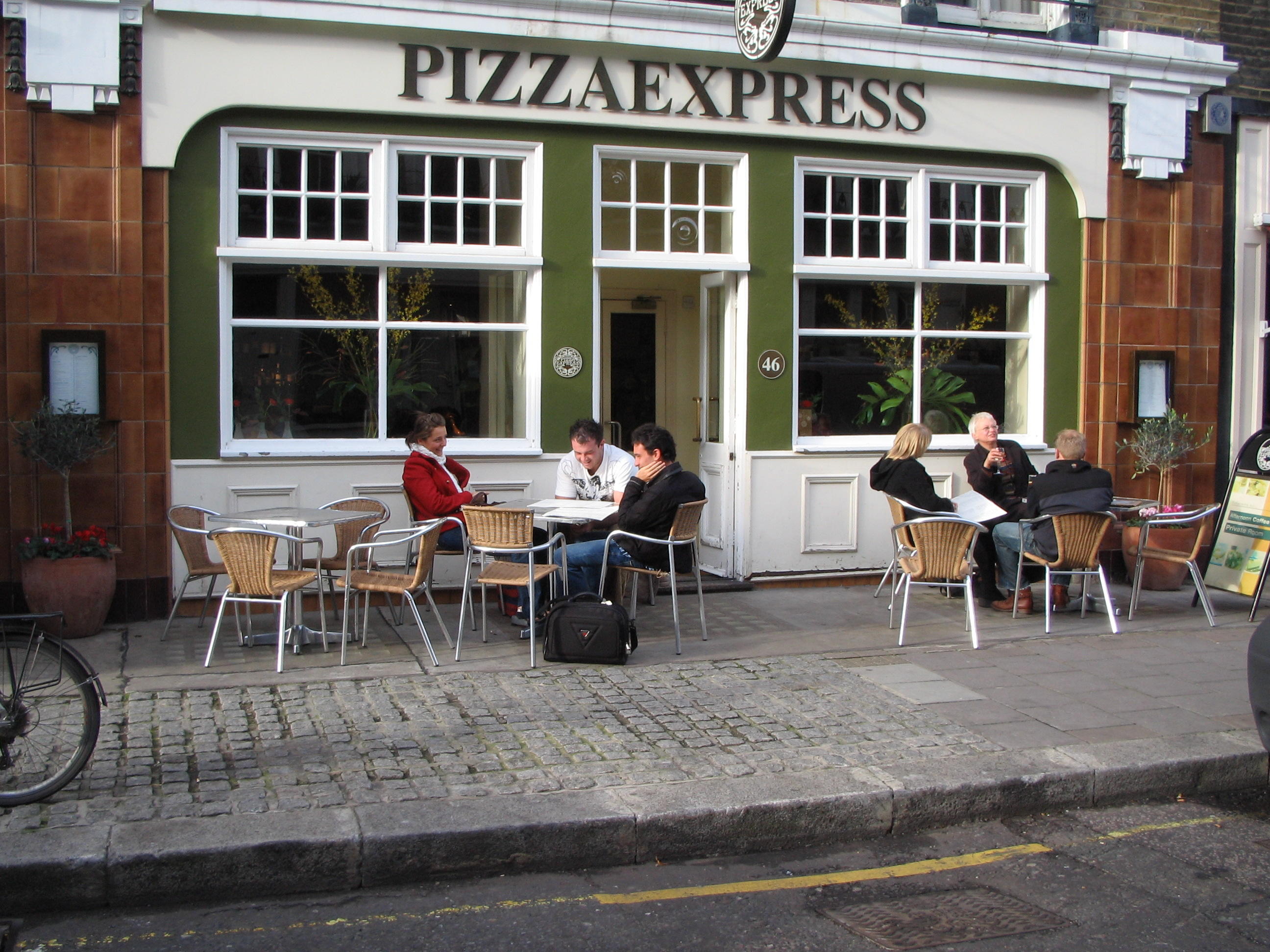 Reserve a table at PizzaExpress Pimlico