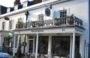 Reserve a table at PizzaExpress Dulwich Village