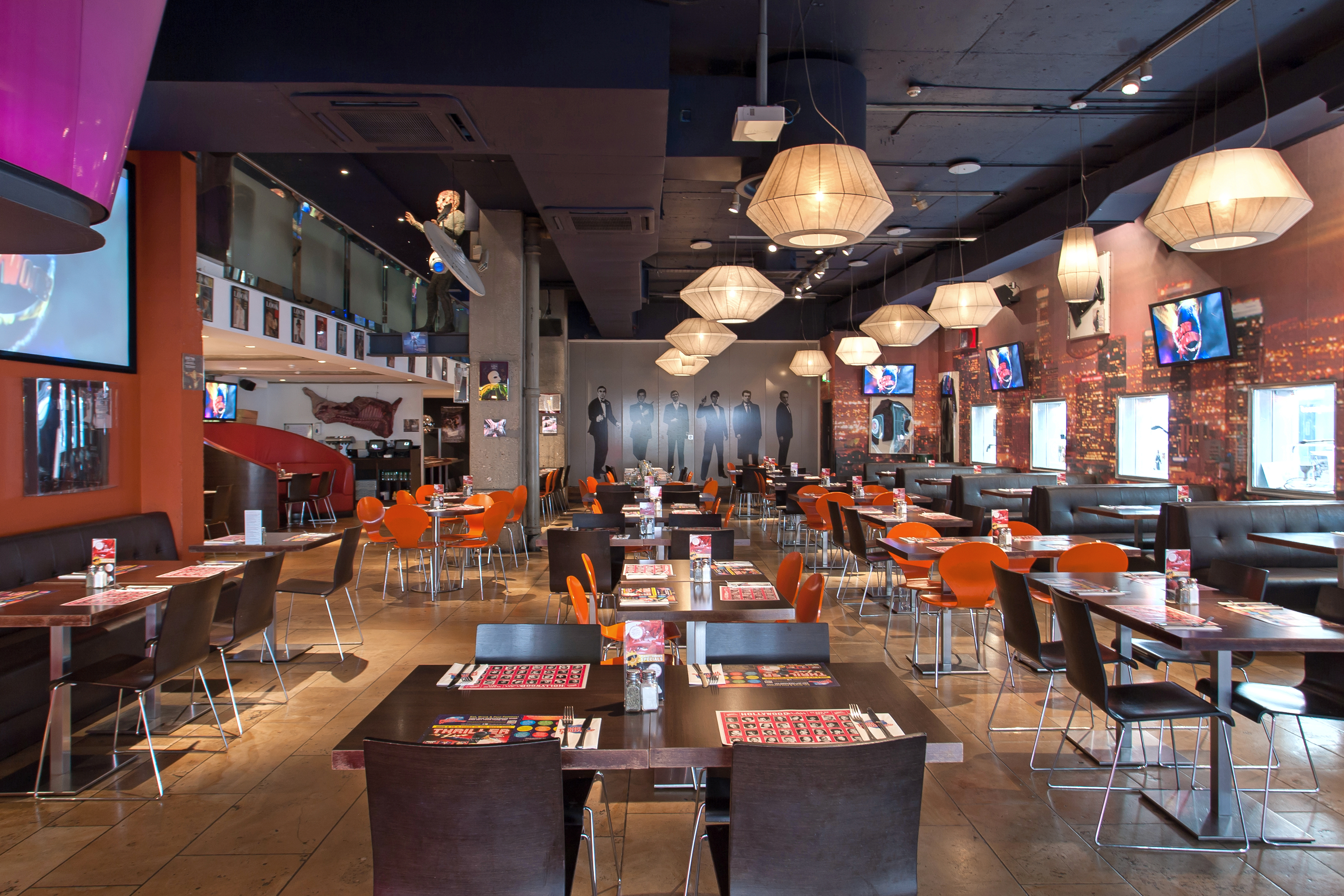 Reserve a table at Planet Hollywood London