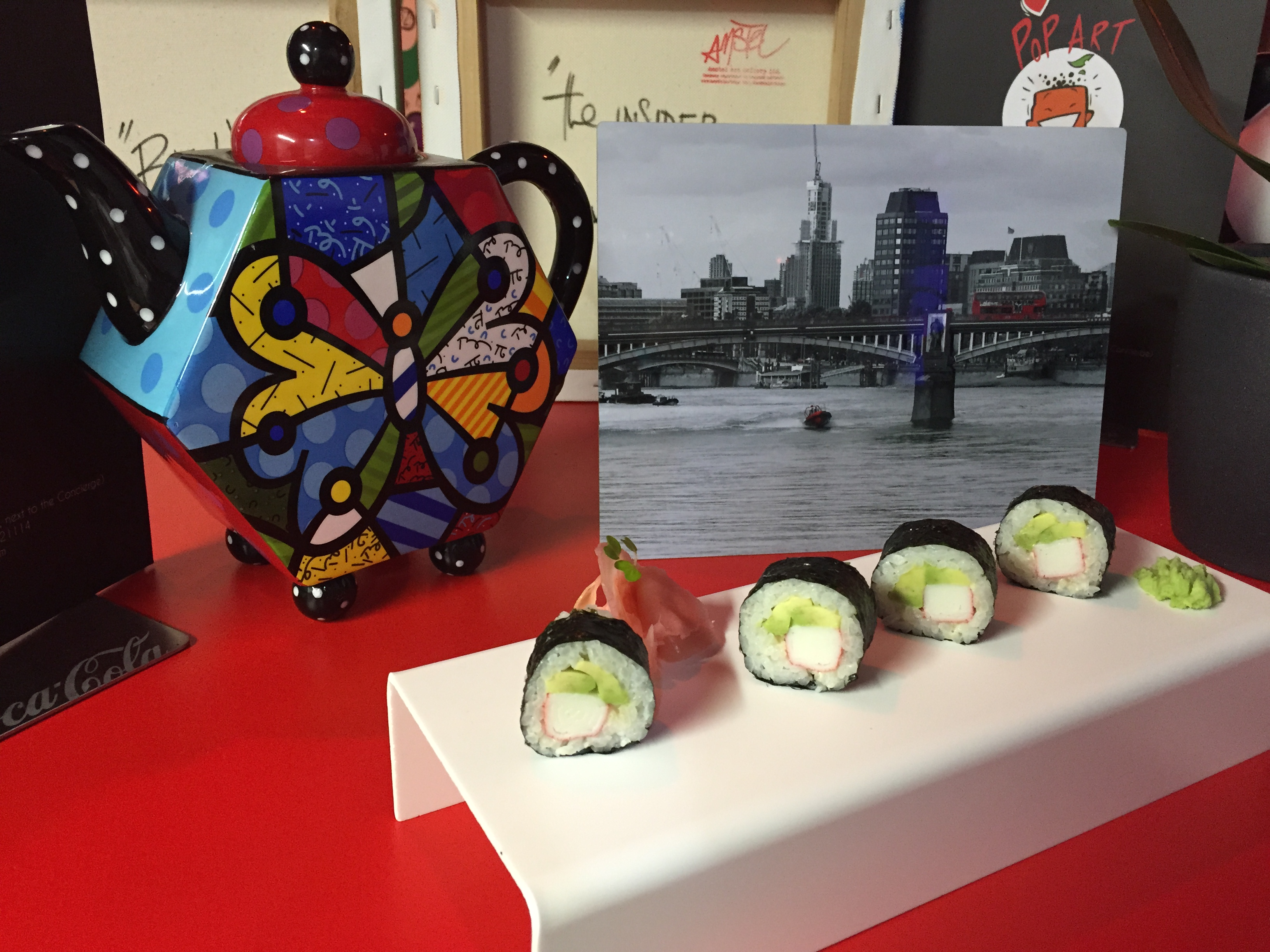 Pop Art Sushi - London