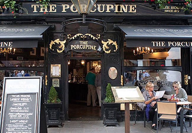 Reserve a table at Porcupine