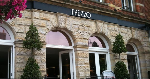Prezzo - East Grinstead - West Sussex