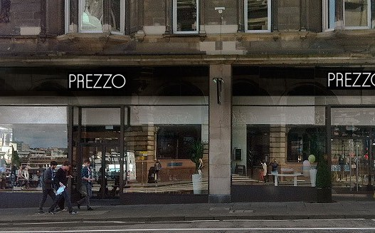 Prezzo - Edinburgh - North Bridge - Edinburgh