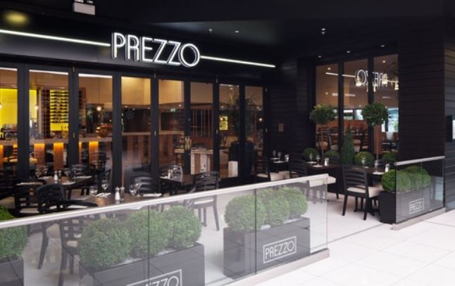 Reserve a table at Prezzo - Hatfield