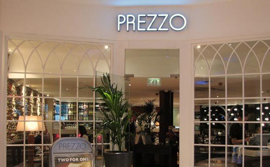 Prezzo - Kingston - Yttre London