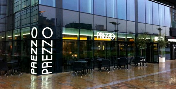 Reserve a table at Prezzo - Manchester