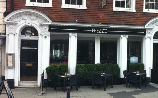 Reserve a table at Prezzo - Reigate