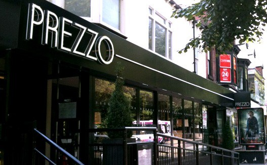 Prezzo - Sheffield - Ecclesall Road - Sheffield