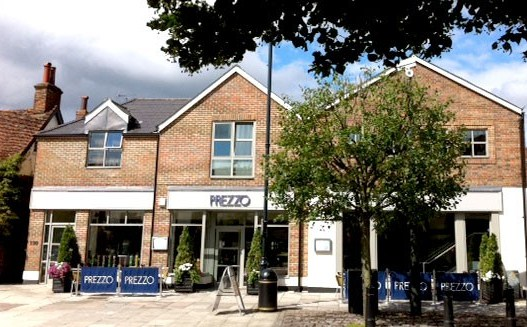 Reserve a table at Prezzo - Stevenage