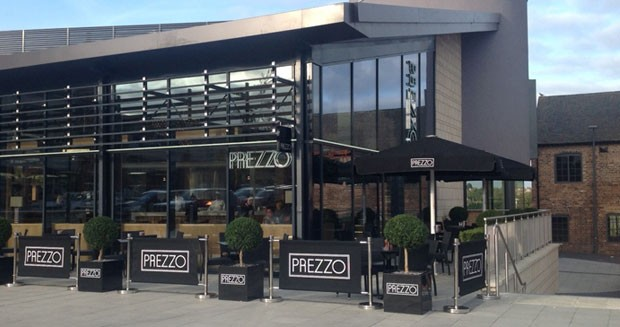 Reserve a table at Prezzo - Swadlincote