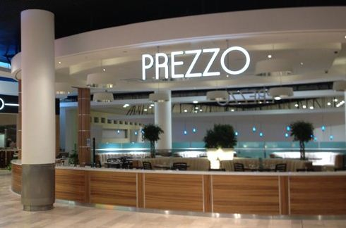 Reserve a table at Prezzo - Wandsworth