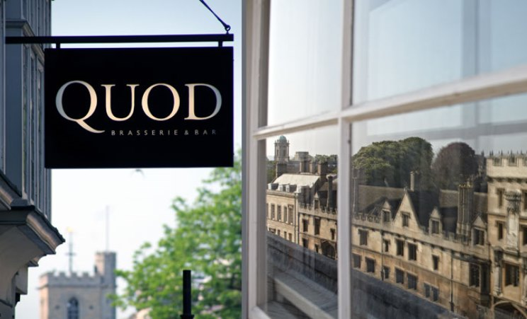 Quod Restaurant & Bar - Oxford - Oxfordshire