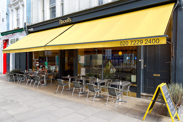 Reserve a table at Raoul's - Notting Hill