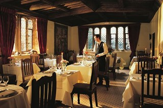 Restaurant at Bailiffscourt Hotel - West Sussex