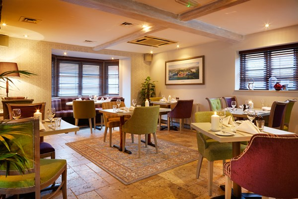 Restaurant at Deddington Arms Hotel - Oxfordshire