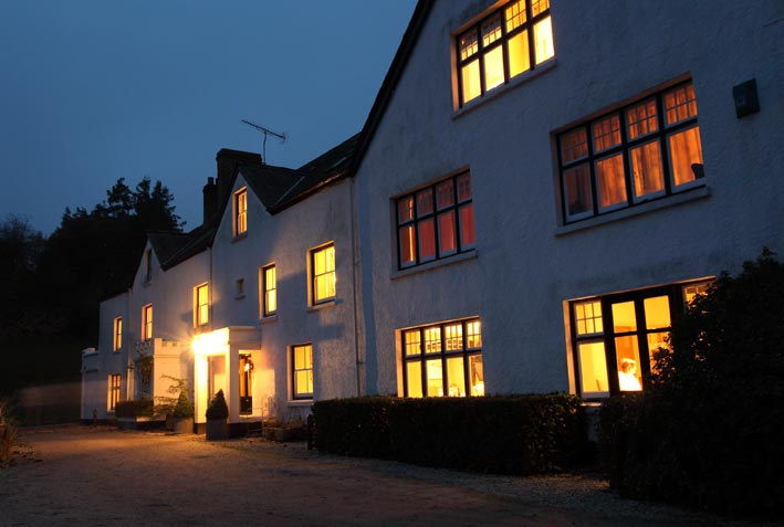 Restaurant at Mill End Hotel - Devon