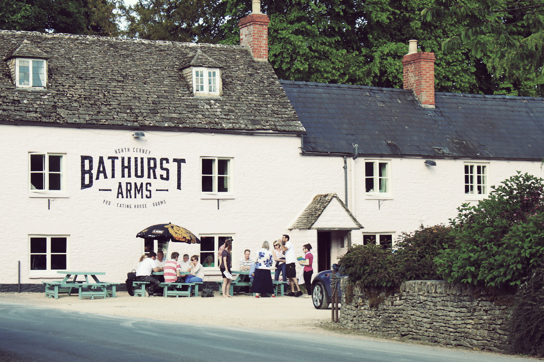 Restaurant at The Bathurst Arms - Gloucestershire