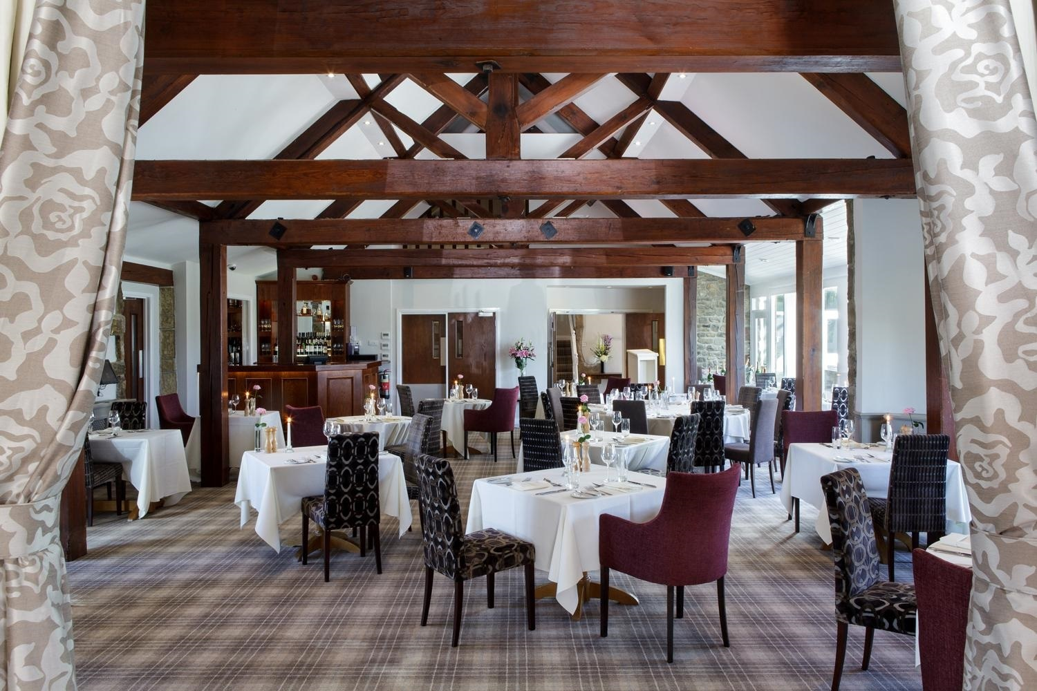 Restaurant at The Coniston Hotel Country Estate & Spa - North Yorkshire