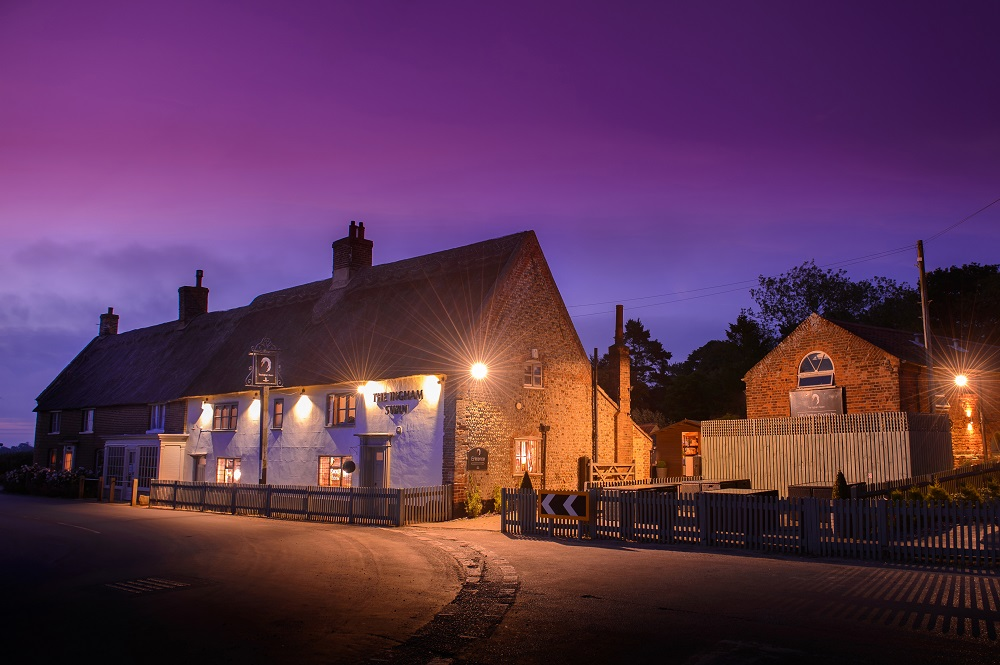 Restaurant at The Ingham Swan - Norfolk