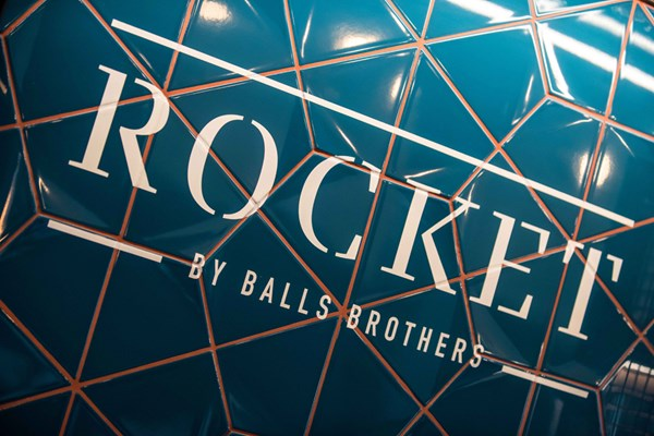Rocket by Balls Brothers - London