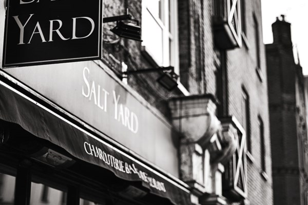 Salt Yard Restaurant - London