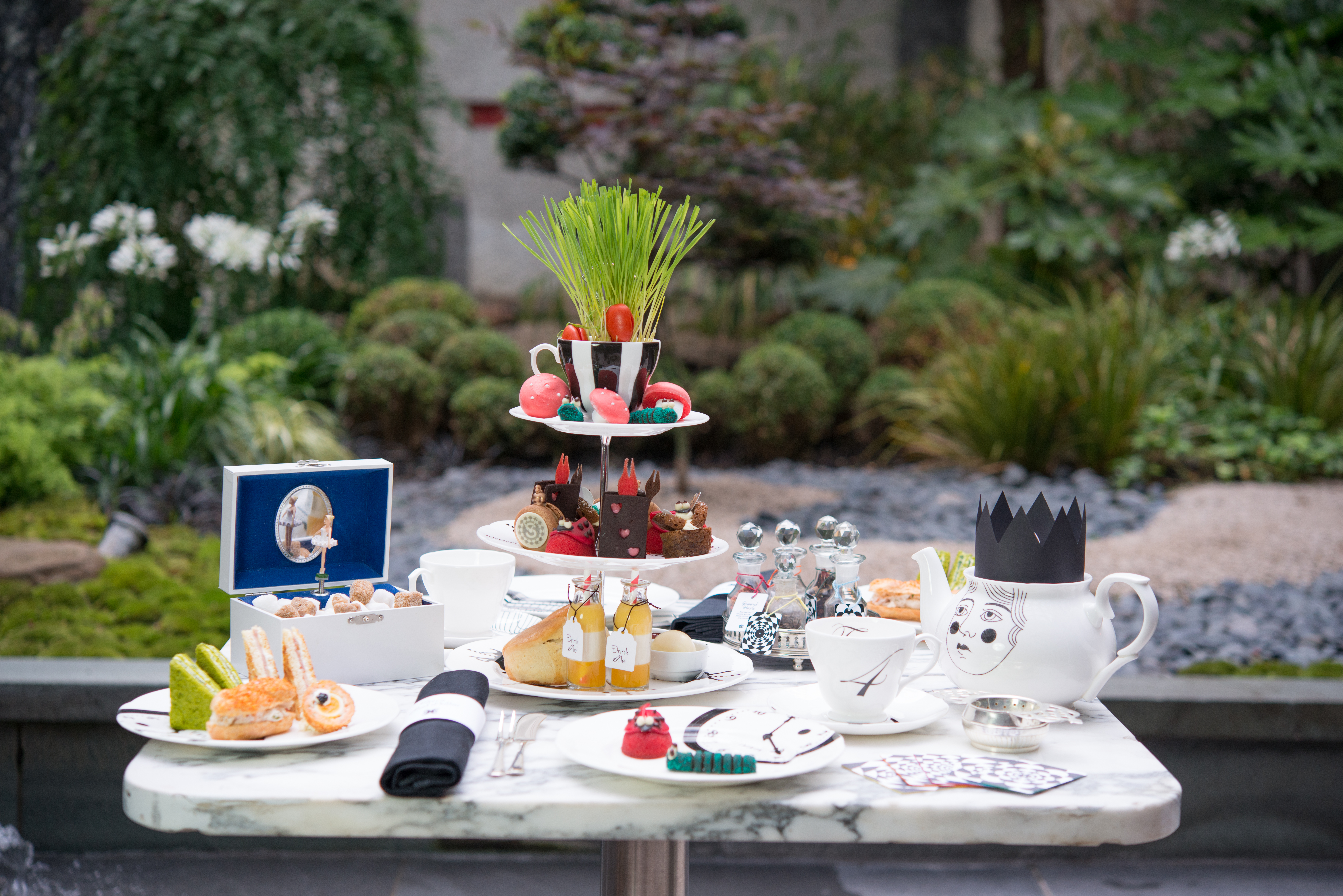 Mad Hatter's Afternoon Tea at Sanderson - London