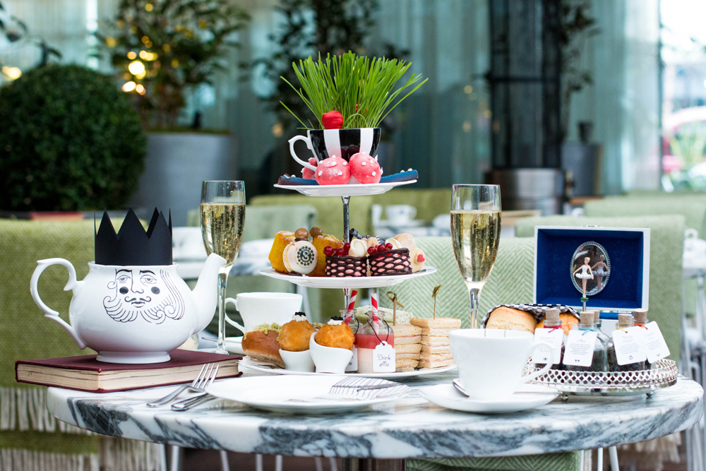 Mad Hatter's Tea at Sanderson - London