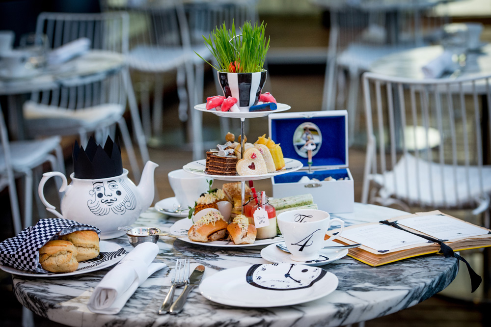 Mad Hatter's tea & a cocktail £40 per person