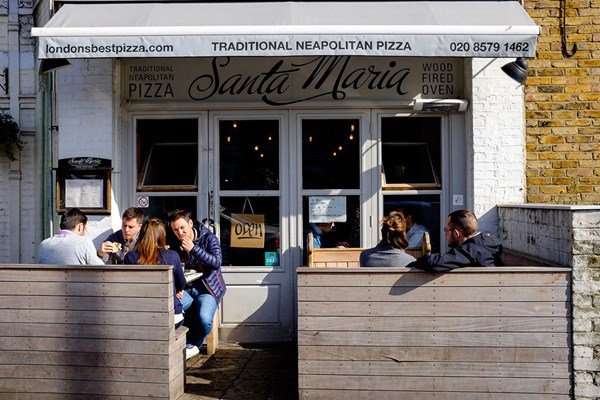 Santa Maria Pizzeria - Ealing - London