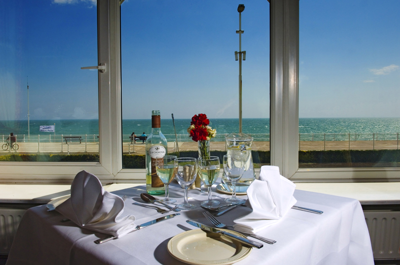 Sea Terrace Restaurant at Royal Victoria Hotel - East Sussex
