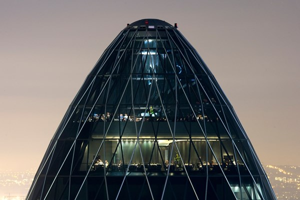 Helix Restaurant at The Gherkin - London